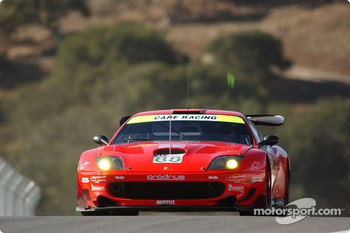 #88 Prodrive Ferrari 550 Maranello: Tomas Enge, Peter Kox