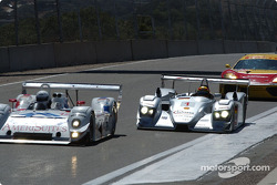 Heavy traffic approaching the Corkscrew