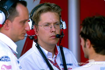 Race engineer Ossi Oikarinen