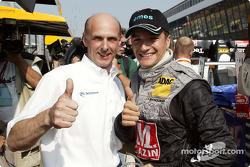 Volker Strycek and Timo Scheider