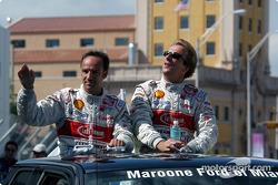 Drivers presentation: Marco Werner and Frank Biela