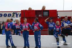 Shawna Robinson's pit crew