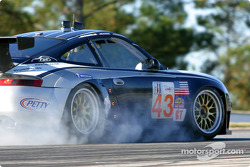 #43 Orbit Racing Porsche 911 GT3RS: Marc Lieb, Peter Baron, Mike Rockenfeller