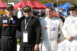 Starting grid: Jason Workman, Andrew Davis and Scott Bradley
