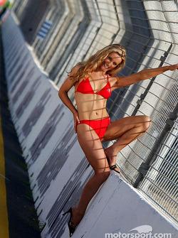 BarterCard Miss Indy girl photo shoot