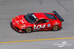 #04 Scuderia Ferrari of Washington Ferrari 360GT: Rusty West, Allie Ash Jr.
