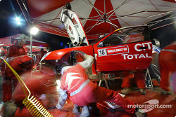 Team Citroën Sport service area