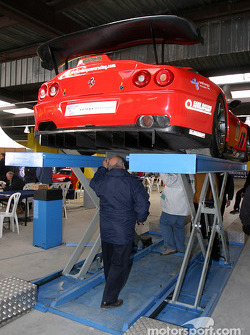 #80 Veloqx Care Racing Racing Ferrari 550 Maranello