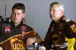 Dale Jarrett and crew chief Shawn Parker