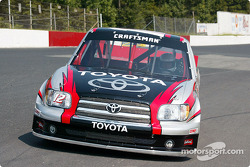 Joe Ruttman tests the Toyota Tundra NASCAR Craftsman Series Truck
