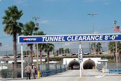 Infield tunnel