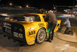 Pitstop practice at Corvette Racing