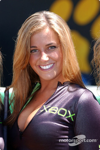 X-Box grid girl