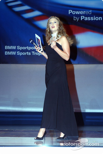 BMW Motorsport party: Barbara Schoeneberger