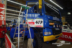 Team de Rooy DAF CF75.800 FAV4X4