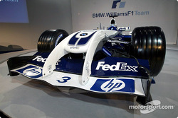 Nose of the new WilliamsF1 BMW FW26