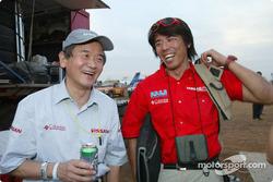 Nissan Motorsports bivouac
