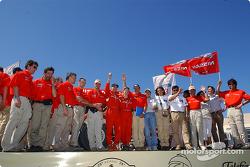 Celebrations at Nissan Dessoude