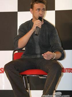 Nicolas Kiesa interview on Autosport Stage