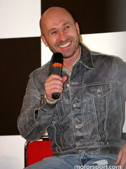 Perry McCarthy interview on Autosport Stage