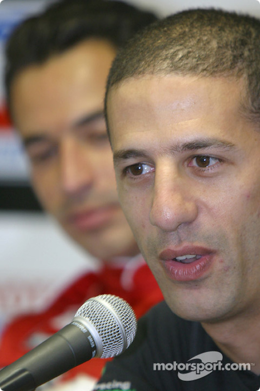 2003 Championship contenders press conference: Tony Kanaan