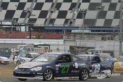 #27 Bill Fenton Motorsports Acura Integra LS: Eric Curran, Bob Beede