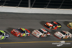 Jeff Gordon, Mike Skinner, Jamie McMurray and Dave Blaney