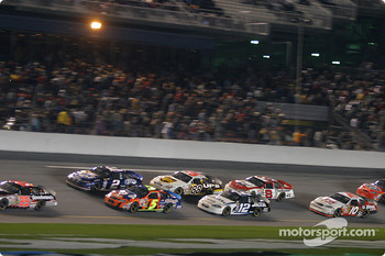 Kevin Harvick leads Rusty Wallace and Terry Labonte