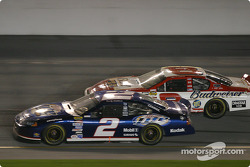 Rusty Wallace and Dale Earnhardt Jr.