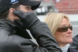 Kyle Petty and wife Pattie