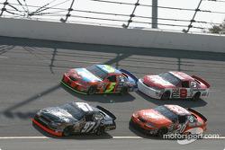 Kurt Busch, Tony Stewart, Terry Labonte and Dale Earnhardt Jr.