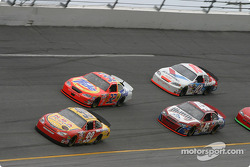 Jeff Burton, Ricky Craven, Kyle Petty and Scott Riggs