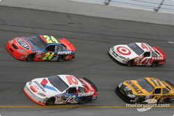 Scott Riggs, Jeff Gordon, Matt Kenseth and Casey Mears