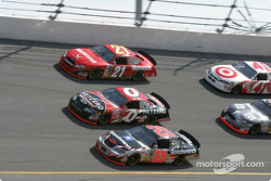Kevin Harvick, Ward Burton and Ricky Rudd