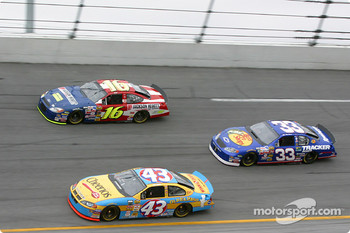 Greg Biffle, Jeff Green and Mike Skinner