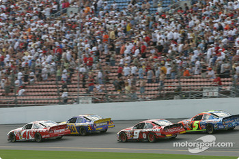 Casey Mears, Johnny Sauter, Kasey Kahne and Terry Labonte