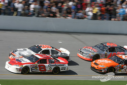Dale Earnhardt Jr., Elliott Sadler, Tony Stewart and Sterling Marlin