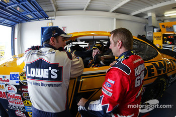 Jimmie Johnson, Matt Kenseth and Greg Biffle