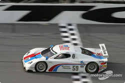 #59 Brumos Racing Porsche Fabcar: Hurley Haywood, J.C. France, Scott Sharp, Scott Goodyear