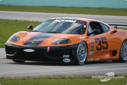 #35 Scuderia Ferrari of Washington Ferrari 360 Challenge: Thomas Jermoluk, Dan Kennedy