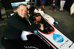 Bas Leinders in the new Minardi PS04B