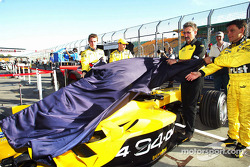 The Jordan EJ14 livery is revealed