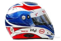 Photoshoot: Olivier Panis' helmet