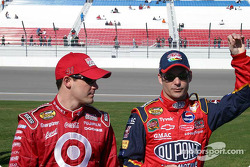 NEXTEL photoshoot: Jeff Gordon and Casey Mears