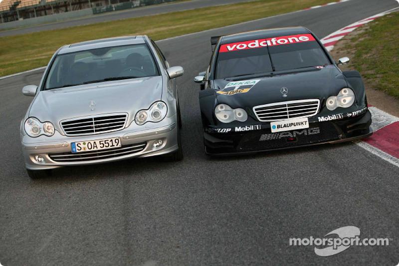 AMG-Mercedes CLK: road and DTM versions