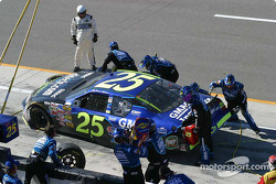 Pit stop for Brian Vickers