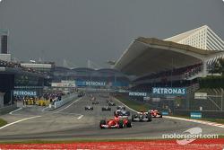 Formation lap: Michael Schumacher