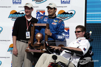 Thiago with team owner Sam Schmidt