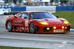 #35 Risi Competizione Ferrari 360 Modena: Anthony Lazzaro, Ralf Kelleners, Matteo Bobbi