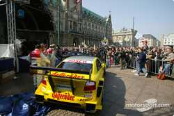 Over 10,000 spectators attended the DTM presentation